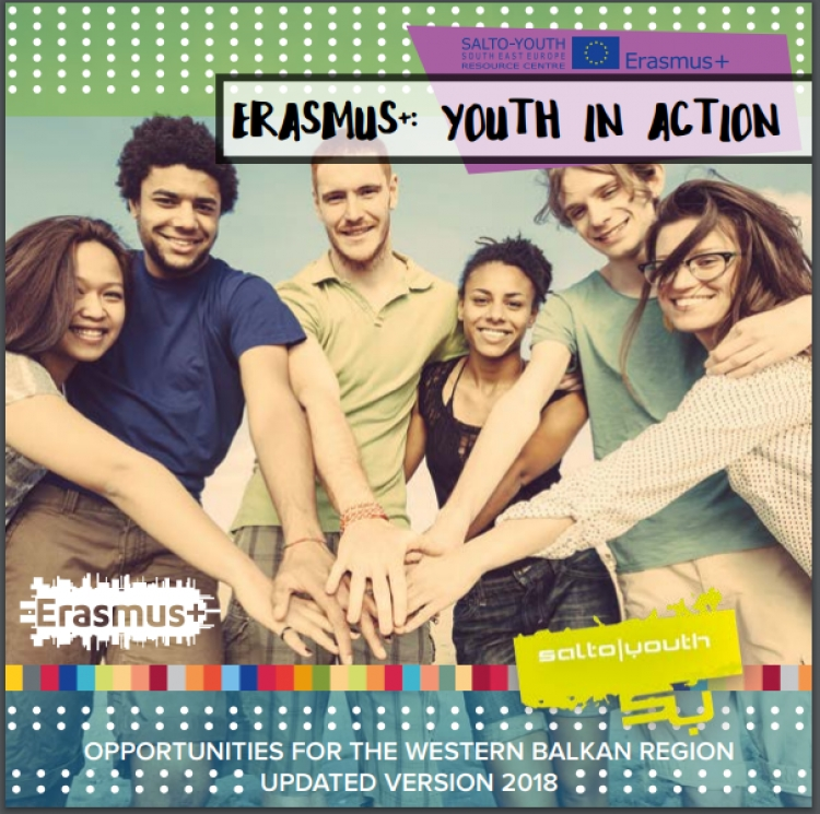 Publikacija Erasmus+: Youth in Action -Opportunities for the Western Balkan region
