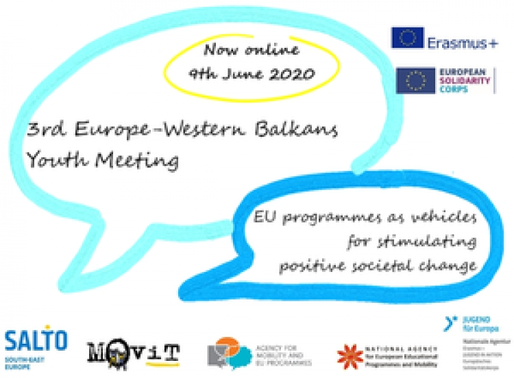 Treći online Europe-Western Balkan Youth Meeting 2020